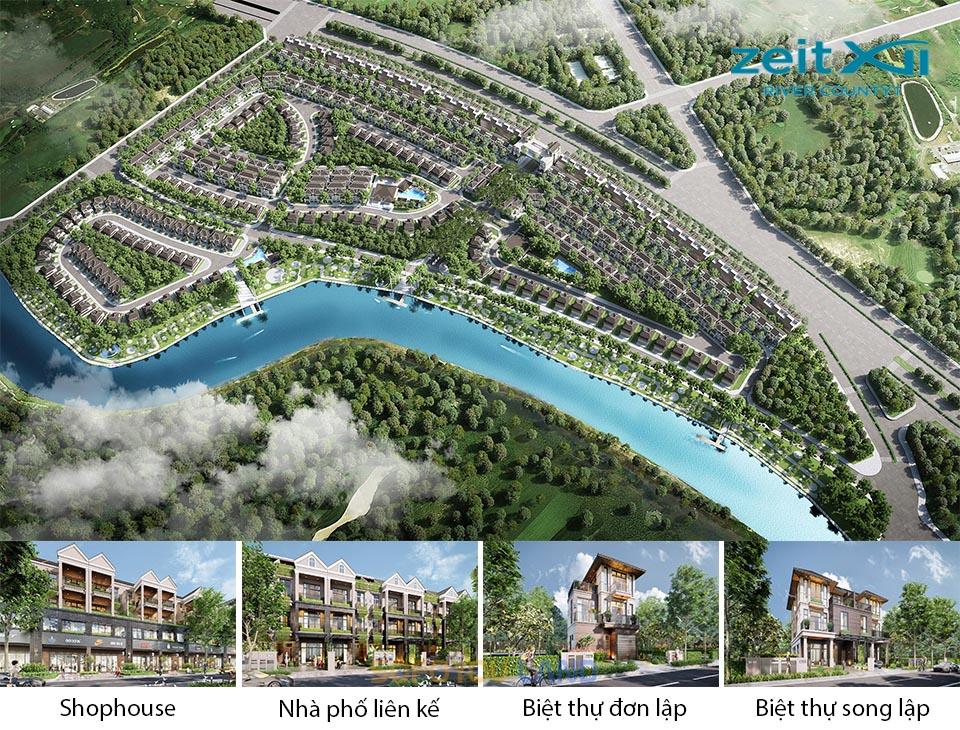 Mở bán giai đoạn 1 Zeit Xii River County 1