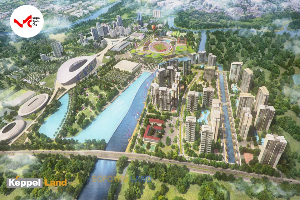 Dự Án SaiGon Sports City Quận 2 Keepel