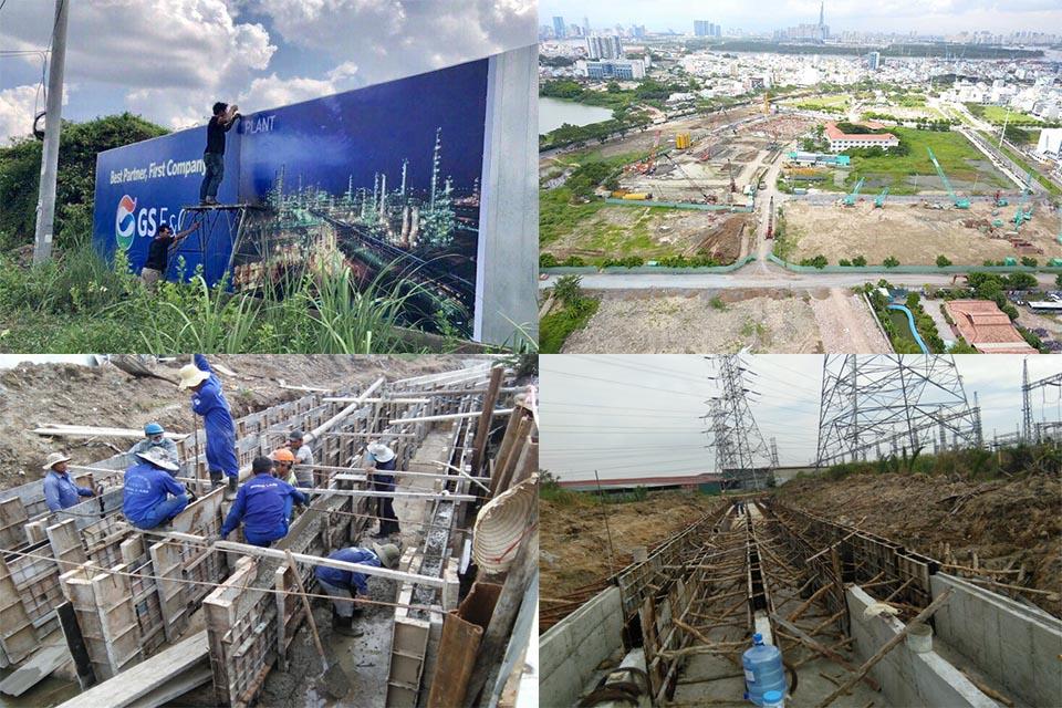 Tiến Độ Dự Án Tiện Ích Dự Án Zeit Xii River County 1