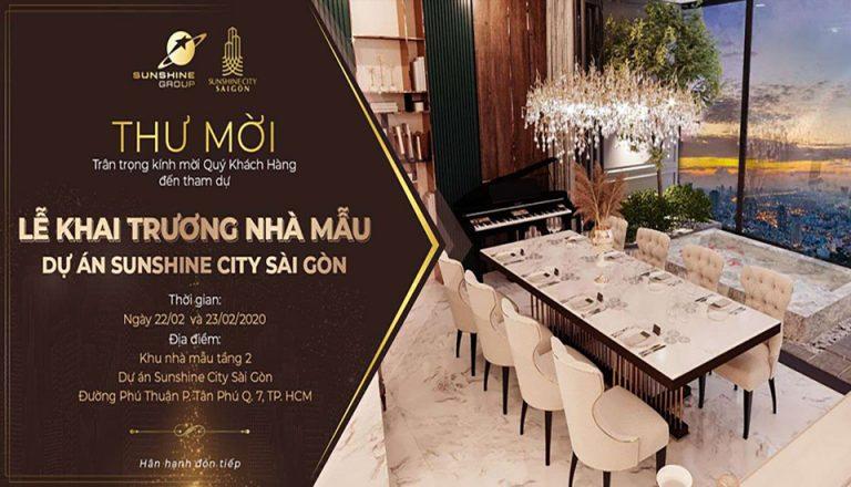 Lễ Khai Trương Nhà Mẫu Sunshine City SaiGon Quận 7 - Ngày 22/2/2020