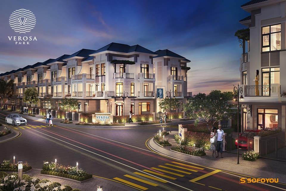 Bán Nhà phố - Biệt thự Verosa Park Khang Điền Quận 9