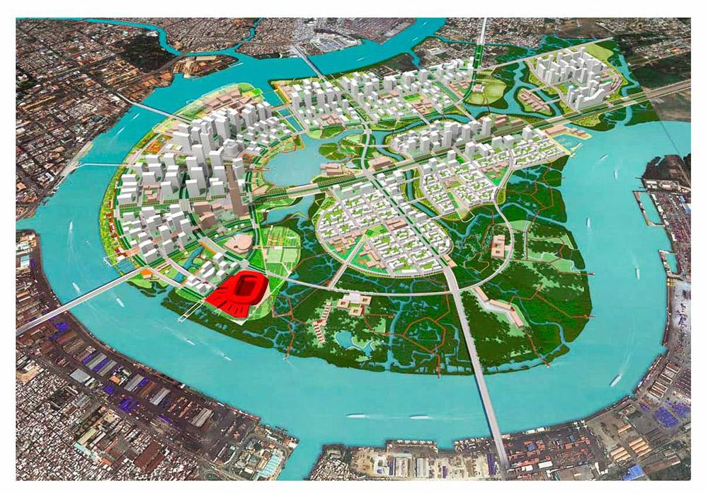 Quy Hoạch Tổng Thể Khu Đô Thị Thiêm Quận 2, TP.HCM