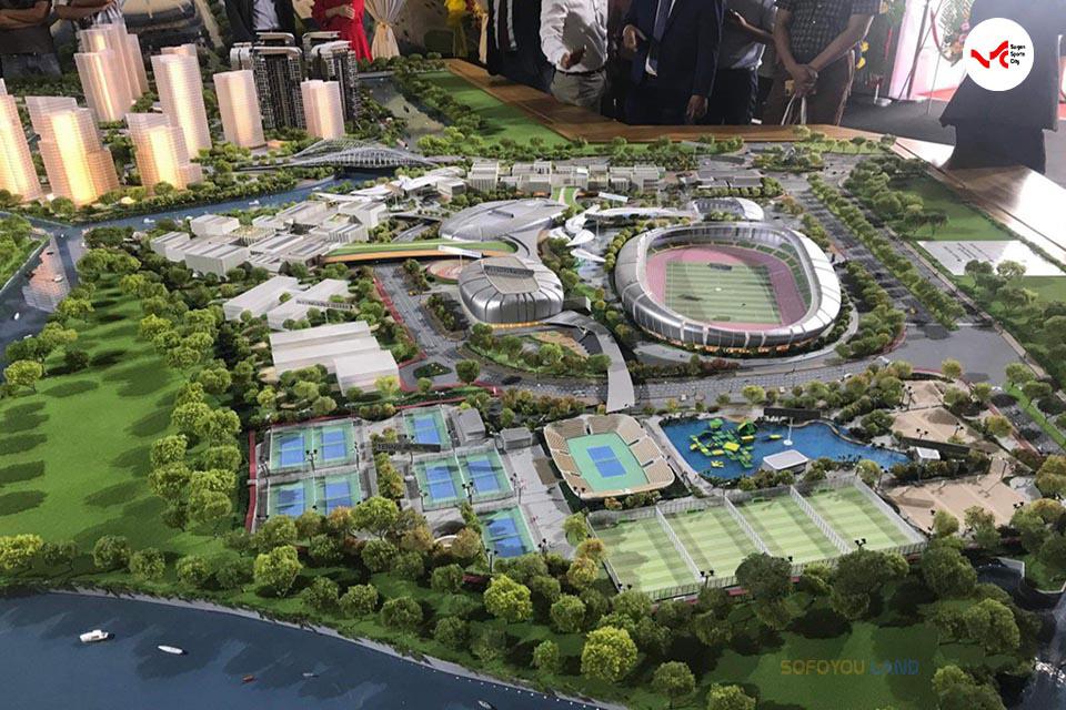 Sa bàn dự án Sài Gòn Sport City Quận 2
