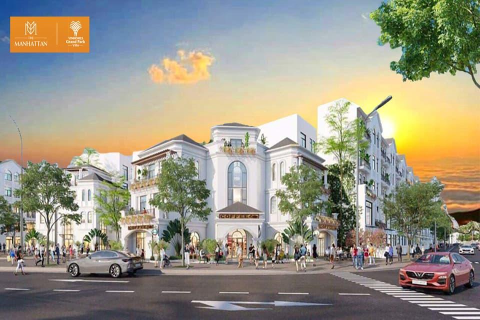 Nhà Phố Manhattan Vinhomes Grand - Mua Nhà Mỹ Ngay Tại Việt Nam