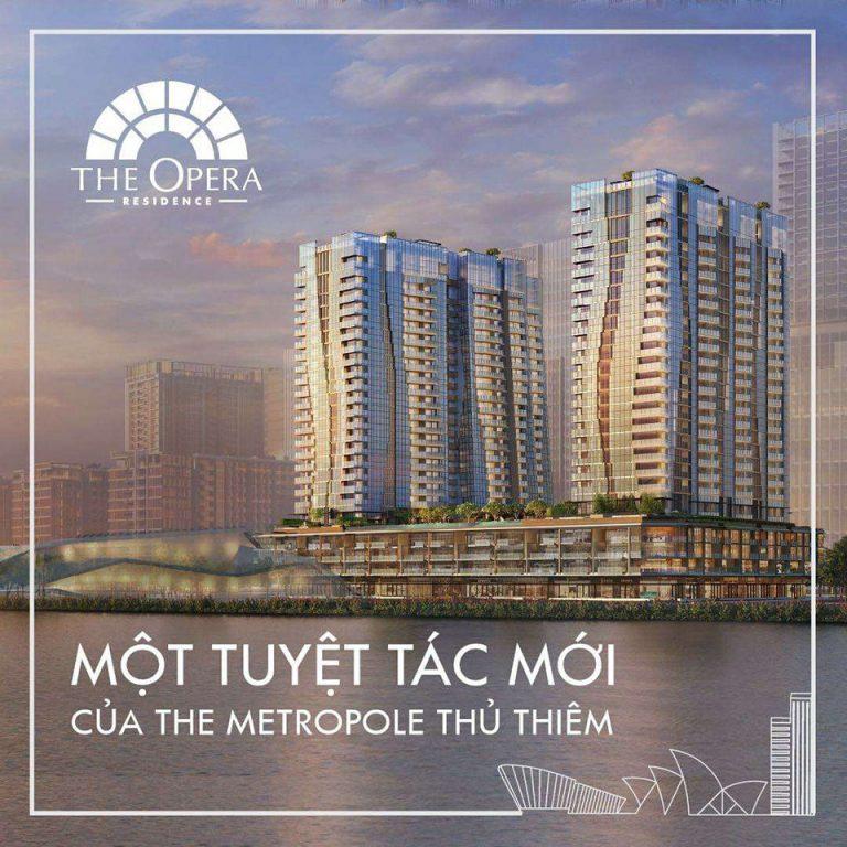 Mở Bán Tháp The Opera Residence Giai Đoạn 3 - Có Nên Đầu Tư Không?