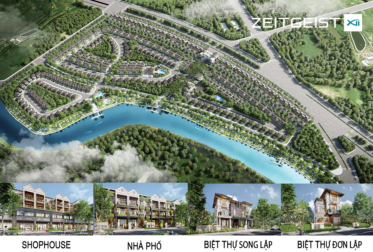 Dự án mở bán đợt 1, phân khu Zeit River County 1 - ZEITGEIST