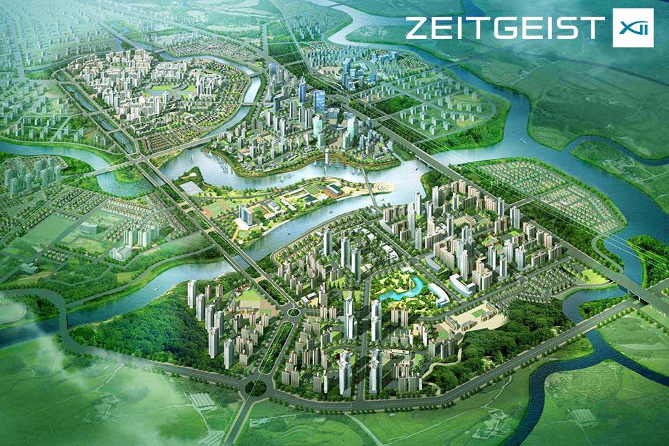 Phối cảnh tổng thể Dự án Zeitgeist Nhà Bè