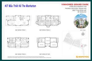 #37 Mẫu Thiết Kế Shophouse - Shop villa - Biệt thự The Manhattan Quận 9