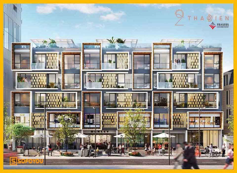Mở bán 12 căn nhà phố liền kề Q2 Thảo Điền