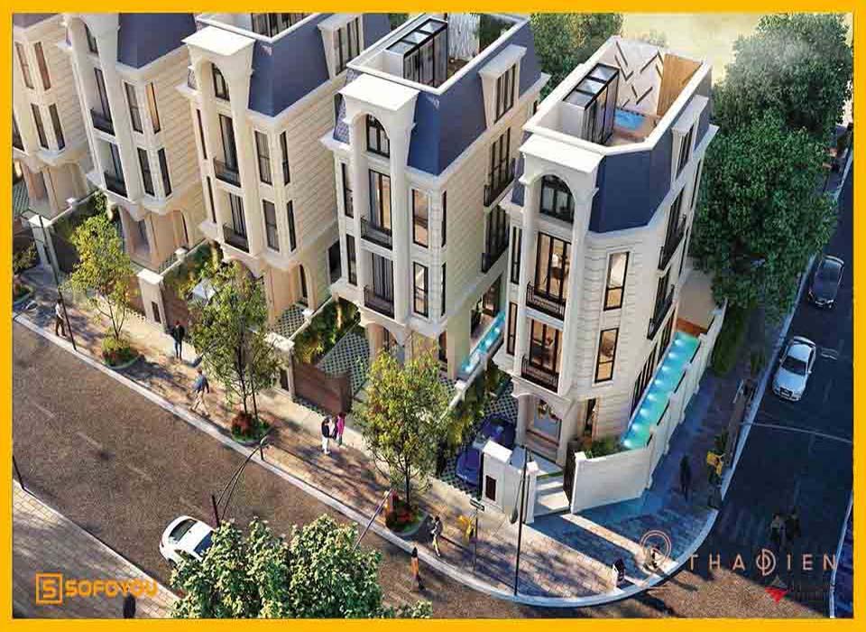 Mỡ bán 6 căn Biệt thự Villas Q2 Thảo Điền