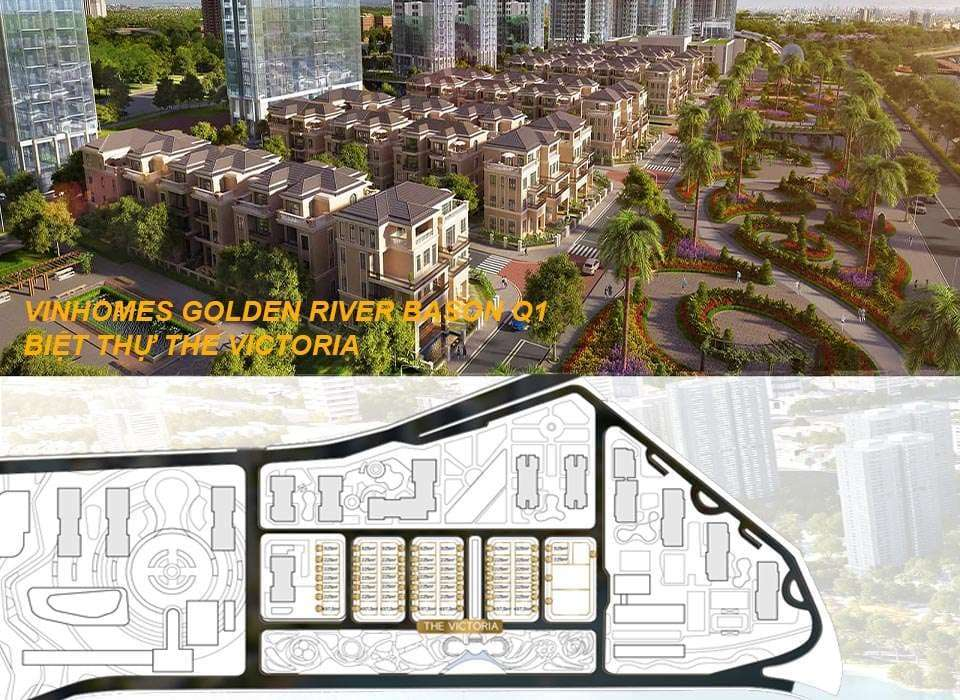 The Victoria Vinhomes Golden River Bason District 1