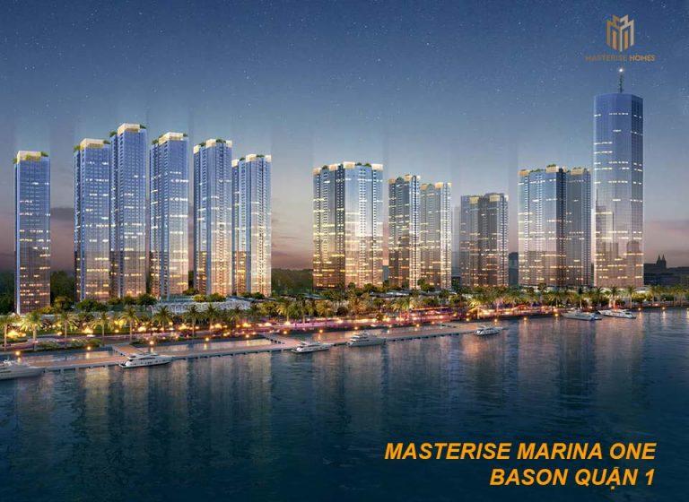 Dự án căn hộ Masterise Marina One Bason Quận 1