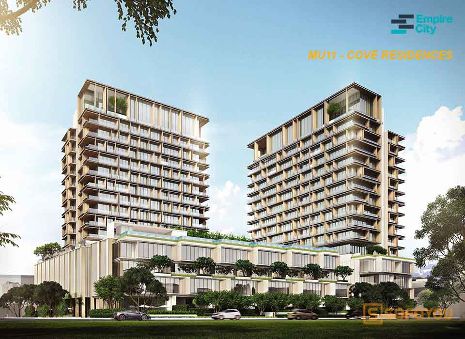 Empire City Mu11 - căn hộ Cove residences Thủ Thiêm Quận 2
