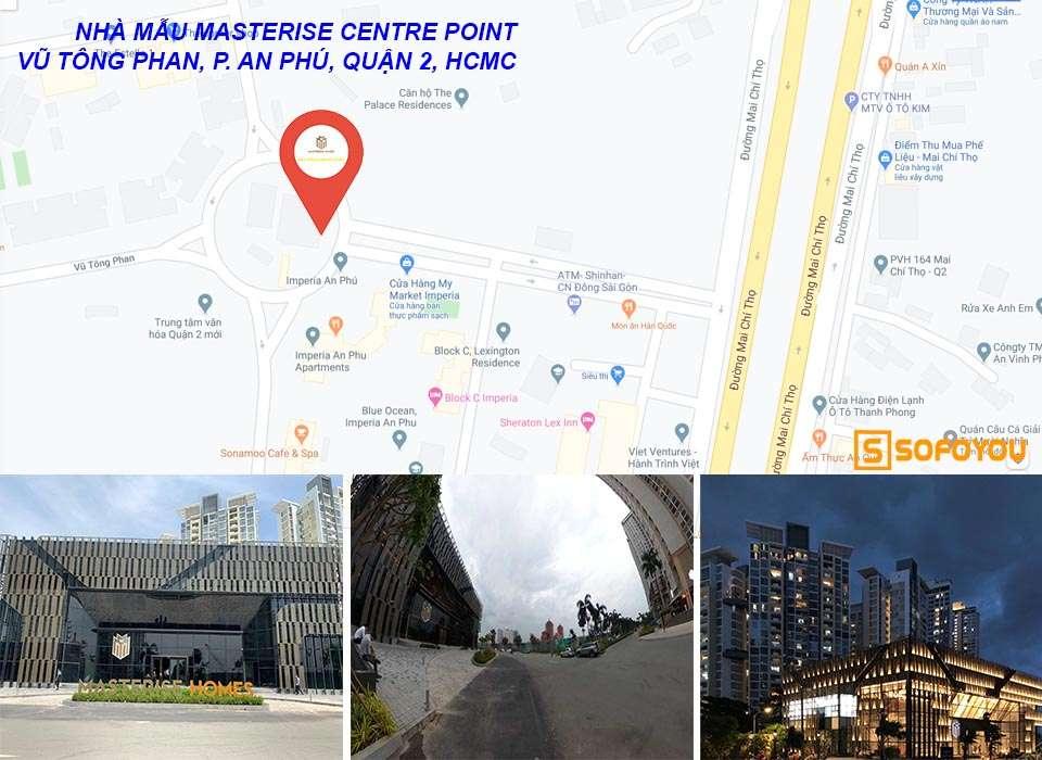 Nhà mẫu Masterise Centre Point tại Quận 2 - Masterise Homes Quận 9