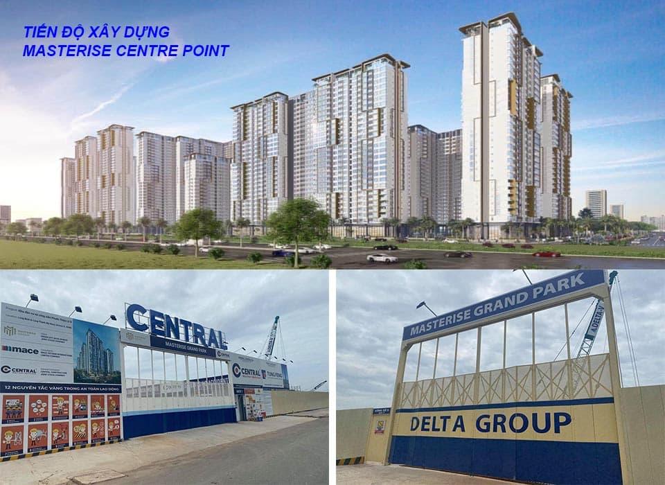 Tiến Độ Masterise Homes Quận 9 do Delta group và Central Cons thi công