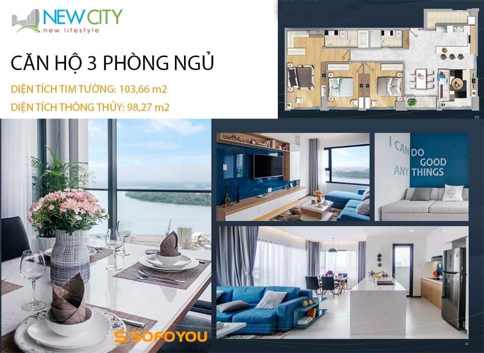 Bán hoặc cho thuê Căn hộ chung cư 3 phòng ngủ, view đẹp