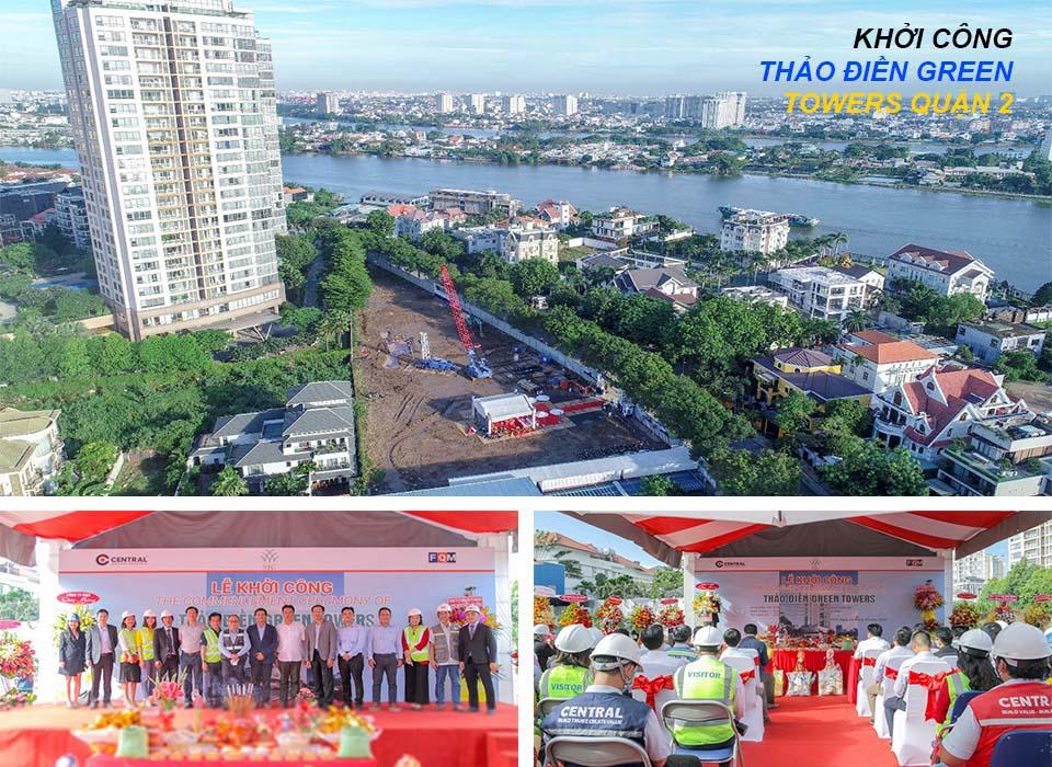 Lễ khởi công công dự án Thảo điền Green Towers