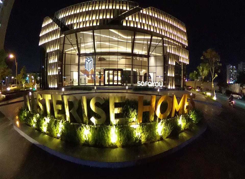 Hình ảnh thực tế Nhà mẫu Masteri centre Point tại An Phú