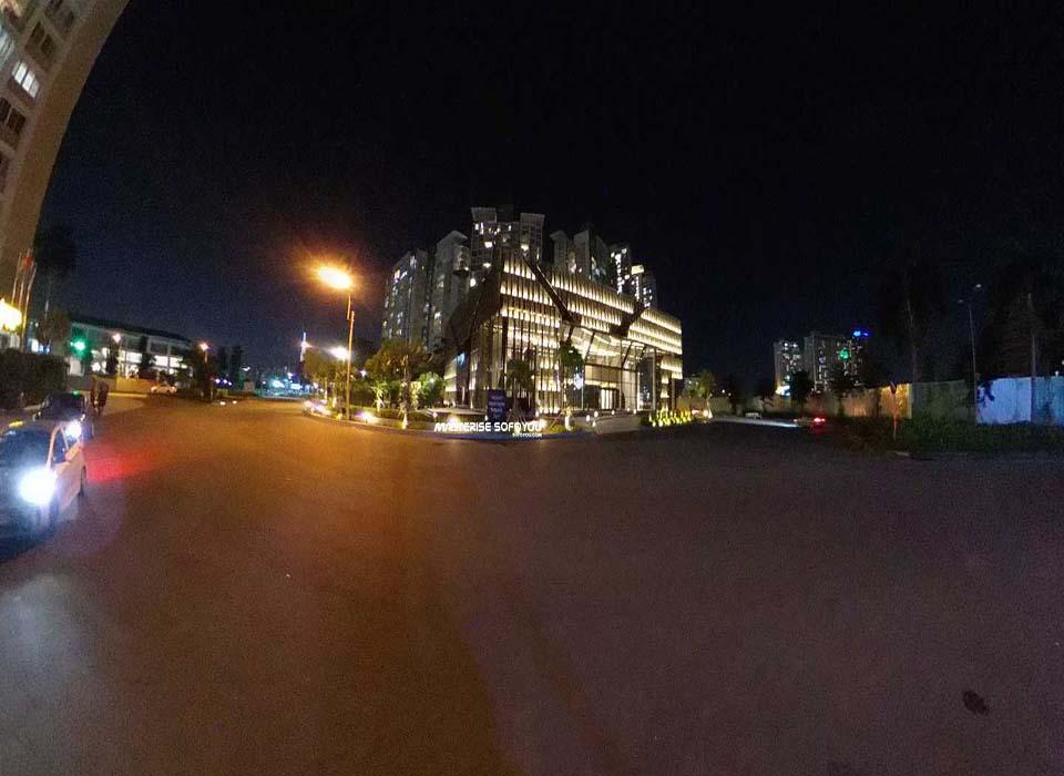 Phối cảnh về đêm tại nhà mẫu Masterise An Phú, Quận 2