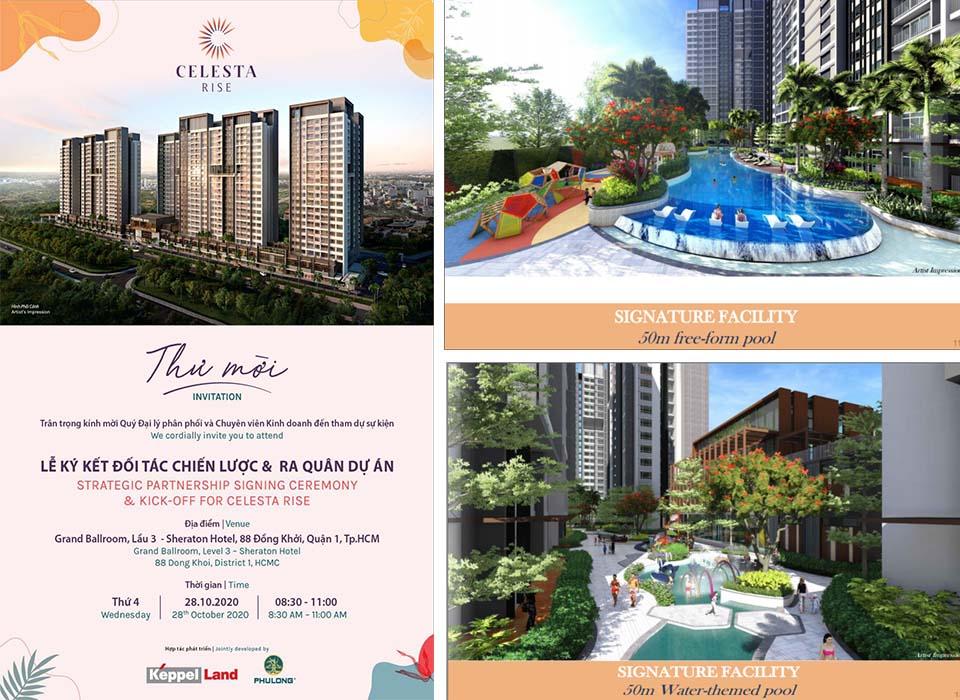 Sự kiện giới thiệu & mở bán căn hộ Celesta rise Keepel land - 28/11/2020