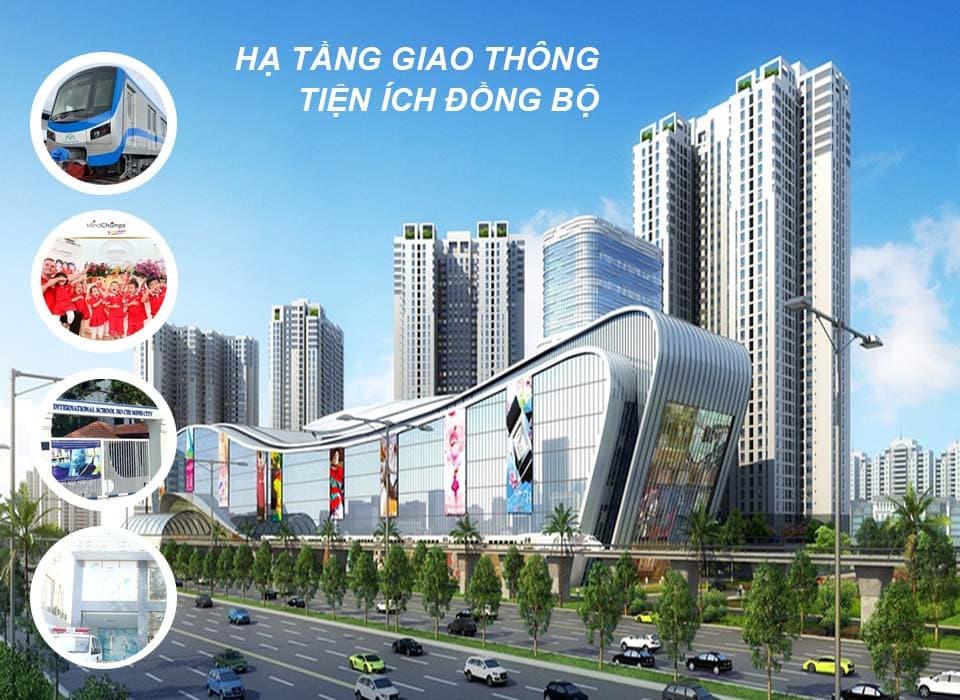 Hạ tầng giao thông và tiện ích động bộ là điểm mạnh tại Thảo Điền