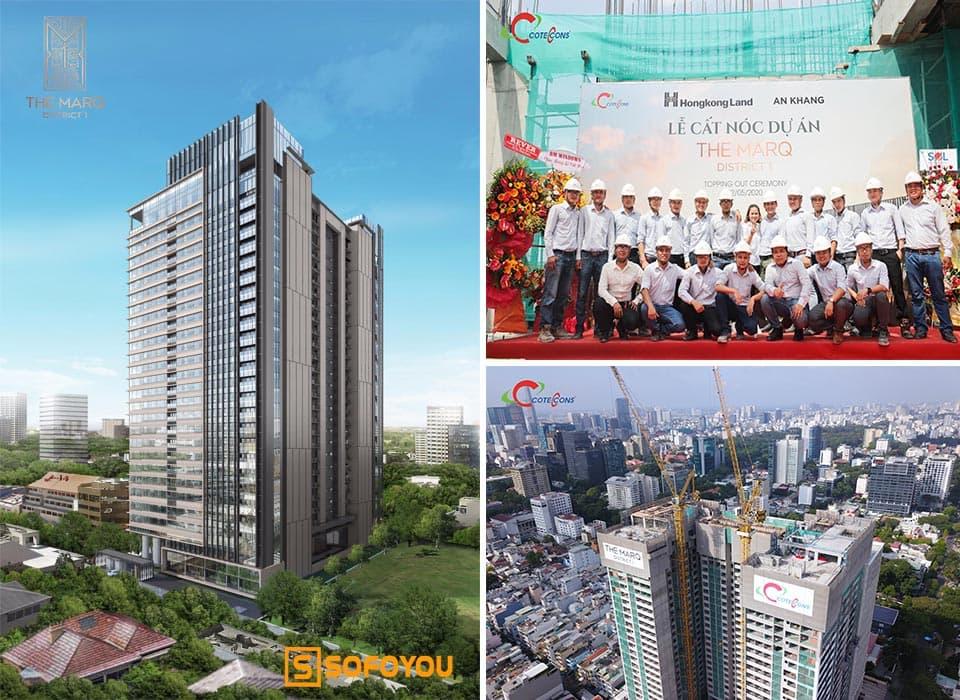 Ngày 22/05/2020 lễ cấc nóc The Marq District 1 tại 29b đường Nguyễn Đình Chiểu, Đa kao