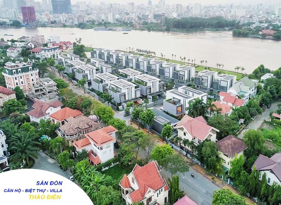 """Thảo Điền được mệnh danh là """"khu nhà giàu"""" tại quận 2"""