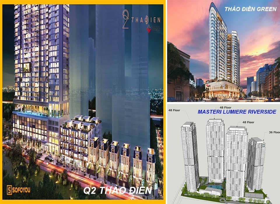 Thảo Điền quận 2 có gì nổi bật, thu hút các Tập đoàn Bất động sản đầu tư