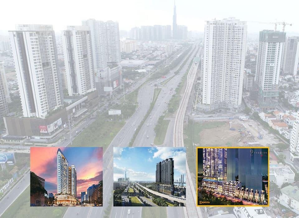 3 dự án căn hộ chung cư nên tìm hiểu tại khu Thảo Điền & An Phú Quận 2