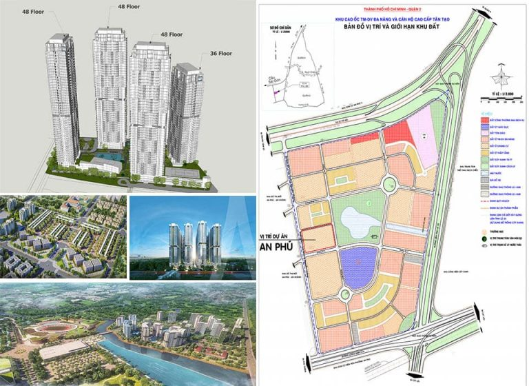 """Giới thiệu các dự án BĐS đang rất """"nóng"""" tại phường An Phú, quận 2"""