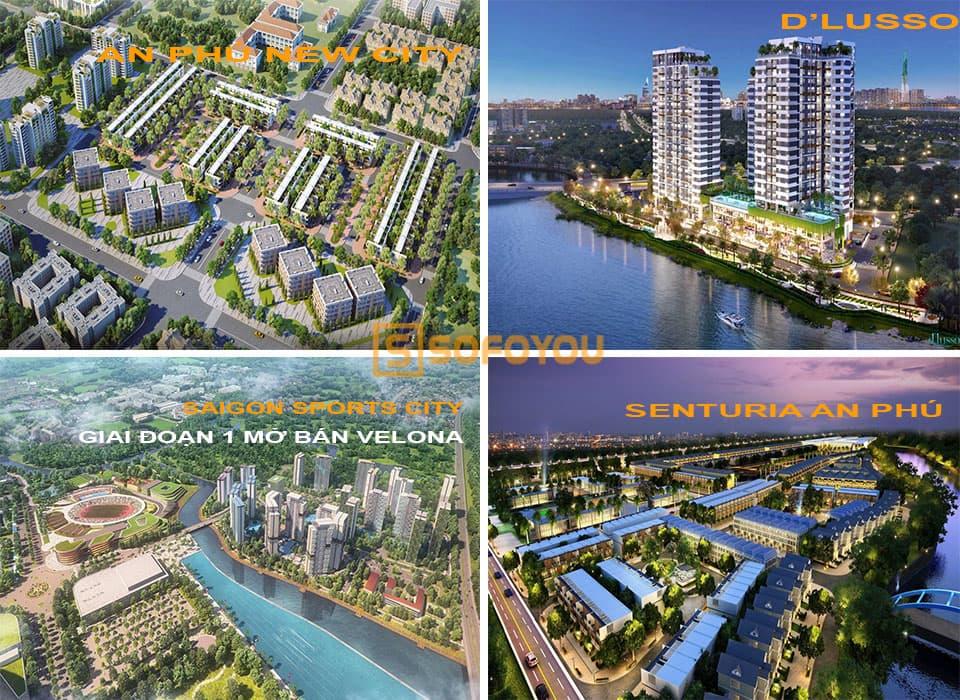 """Danh sách các dự án đang rất """"nóng"""" tại phường An Phú, quận 2"""