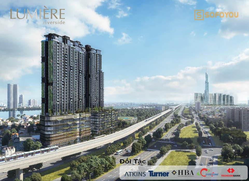 Dự án căn hộ Lumière Riverside An Phú District 2