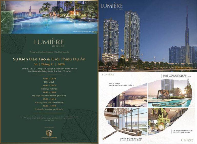 """Sự kiện giới thiệu dự án Lumière riverside & đào tạo """"Kick-Off"""" ngày 30/11/2020"""