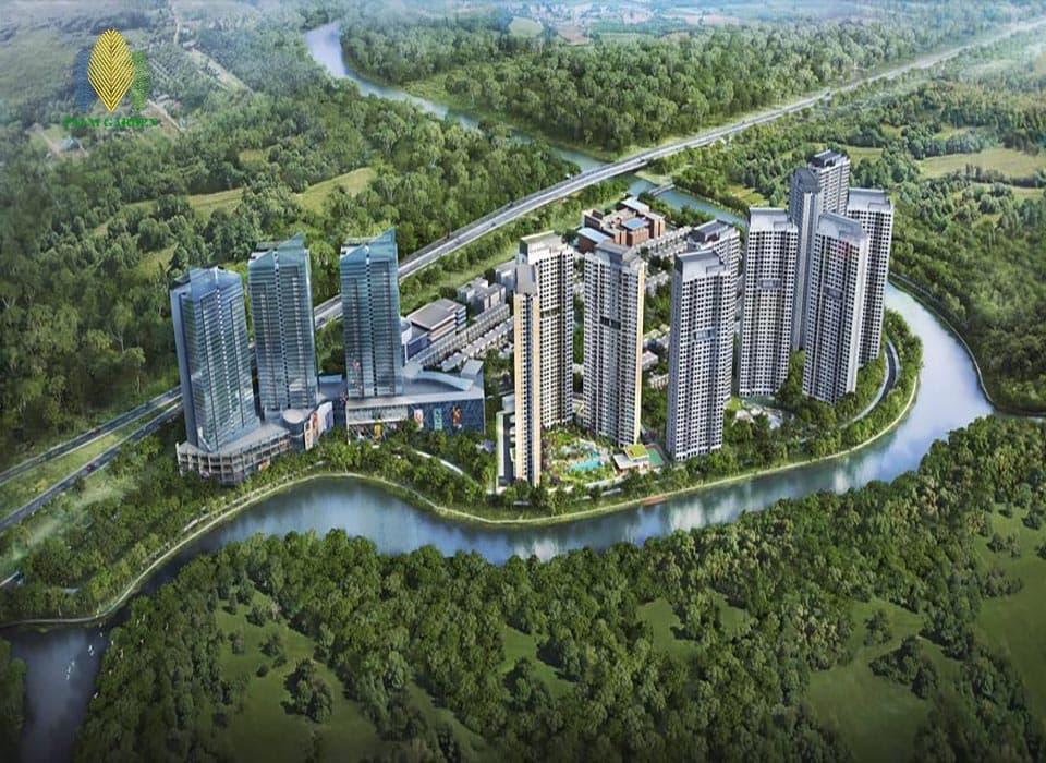 Dự án chung cư Palm Garden - Khu đô thị Palm City