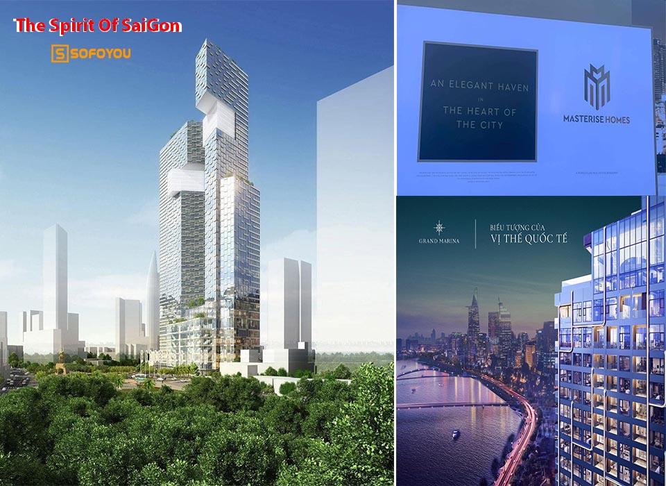 Năm 2021, masterise homes trình làng 2 siêu phẩm Grand Marina và The Spirit Of Saigon