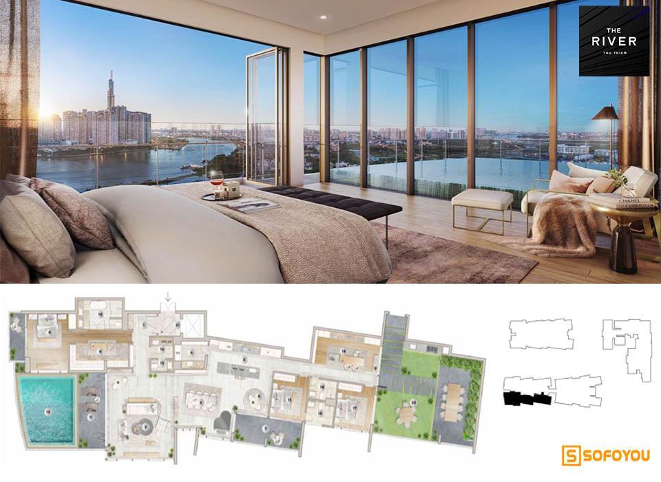 Penthouses Sài Gòn - Mở bán 12 căn hộ áp mái view sông saigon