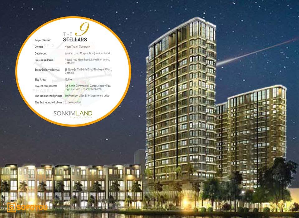 """The 9 Stellars SonKim Land - Dự án """"Căn hộ & Villa"""" Quận 9"""