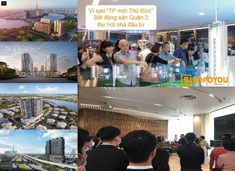 Lý giải sự hấp dẫn khó cưỡng của bất động sản quận 2 năm 2021